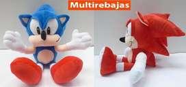 Peluche De Sonic Tails Knuckles Sega