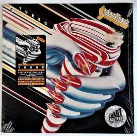 Judas Priest Turbo Primera Edición Vinilo Cbs1986 Like New