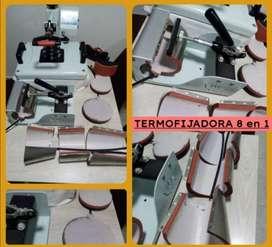 Termofijadora 8en1 + Impresora