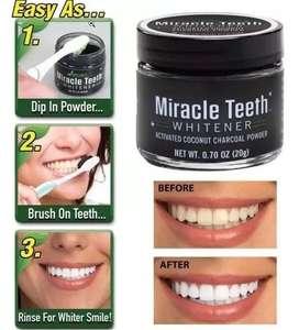 Blanqueador Dental Natural Coco Carbon Activo