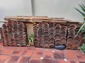 Tejas españolas usadas