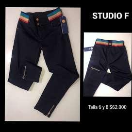 Pantalones studio f economicos