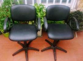 Vendo dos sillones hidráulicos de peluquería