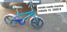 Vendo 3 bicicletas para niño
