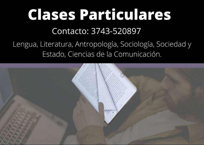 Clases particulares de lengua y literatura, comunicaciones, sociología, portugués y francés. 0