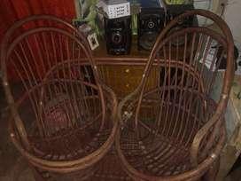 Muebles usados en Rattan antiguo