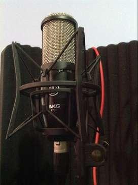 Micrófono condensador AKG P-220