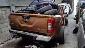 Salvamento y repuestos Nissan frontier