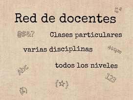 Clases particulares ANÁLISIS MATEMÁTICO, ÁLGEBRA, GEOMETRÍA y demás