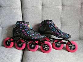 patines profesionales cityrun y bolso
