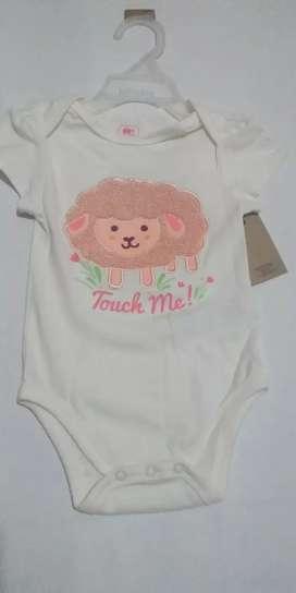 Mameluco bebè niña talla 6 meses