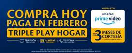 TIGO UNE COMPRA HOY TRIPLE PLAY HOGAR  Y PAGA EN FEBRERO