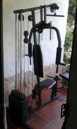 Maquinas para hacer ejercicios