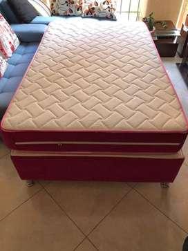 Base cama tipo nido + colchon