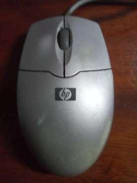 Mouse HP usado puerto ps/2