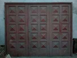Portón 3 hojas Garage
