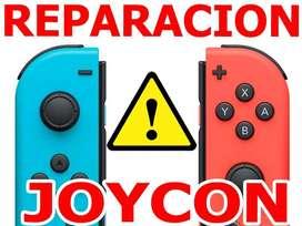 Nintendo Switch Joycons Reparacion Joy Cons Arreglo Garantizado