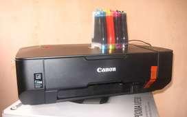 Impresora Canon 230 con sistema continuo