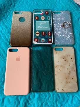 Estuches para iphone 7/8 plus