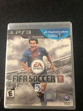 PS3 FIFA SOCCER 13