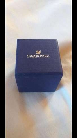 Anillo swarovsky azul