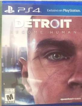 Video juego Detroit Become Human