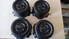 Vendo tapas para camioneta Nissan en perfecto estado