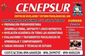 CENEPSUR INSTITUTE: te ofrece capacitaciones en INGLES