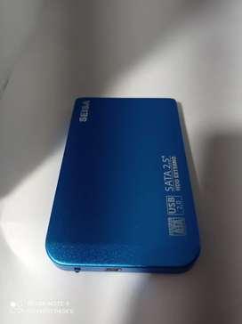Disco duro 1 tb se vende solo o con la caja que lo convierte en Usb