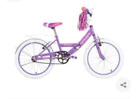 Bicicleta top mega rodado 20