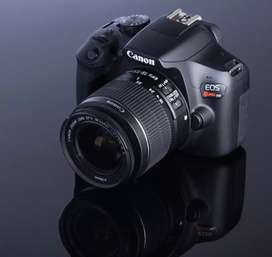 Cámara profesional Canon T6