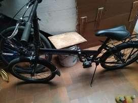 bicicleta plegable marca scoop