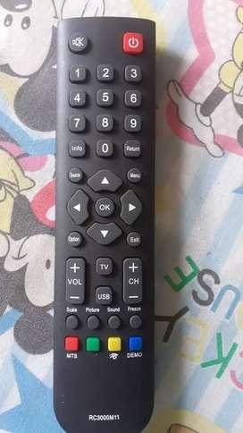 Control para tv  challenger  y kalley