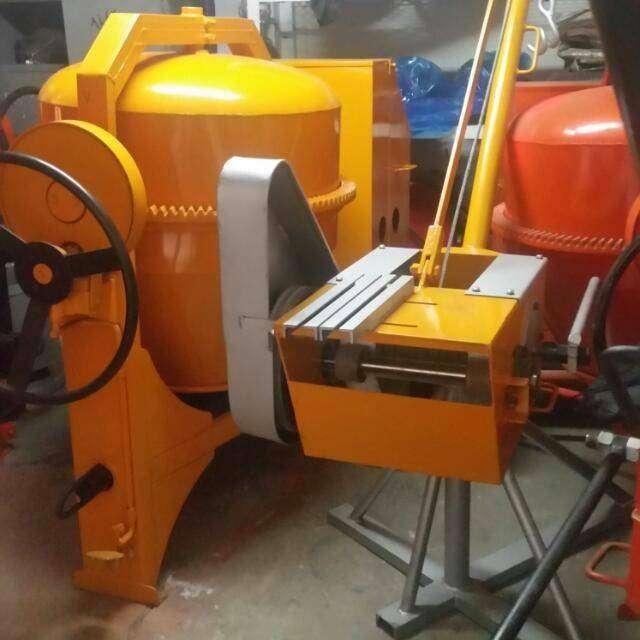 Mezcladoras para concreto a gasolina eléctrica 0