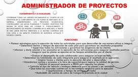 ADMINISTRADOR DE PROYECTOS