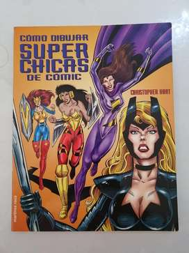 Libro Como Dibujar Super Chicas de Comic