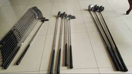 Vendo a precio super económico 18 palos de golf
