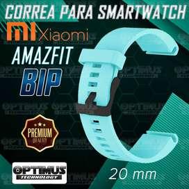 Correa Pulso Banda para reloj inteligente Smartwatch Xiaomi Amazfit Bip