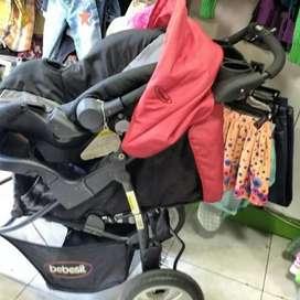 Coche para niño con silla para autos