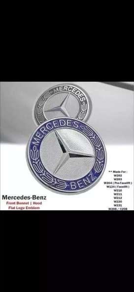 Emblema delantero capo posterior maletera Mercedes benz