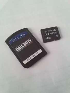 Calle of duty black los DECLASSIFIED Y memoria 4GB