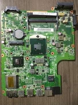 Board para portátil Toshiba satélite L754 para repuestos con procesador Intel core i5 2da generación