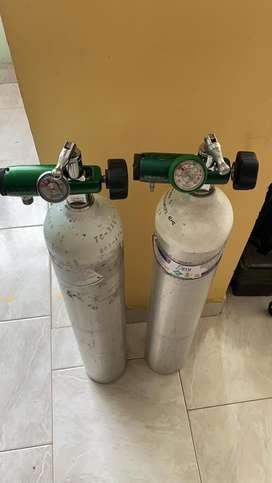 Vendo cilindros de Oxigeno