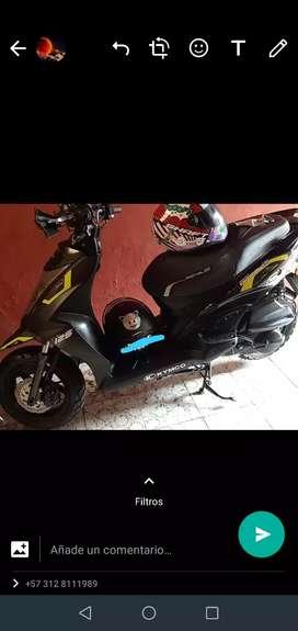 Moto agility 2020 casi nueva
