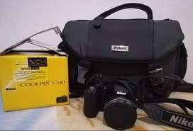 Vendo cámara Nikon coolpix l340 semiprofesional en perfecto estado y poco uso