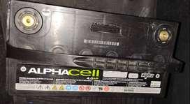 Bateria Alphacell audiocar