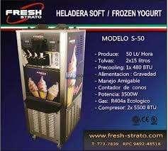 maquina heladera fresh Italiana, con un año de uso