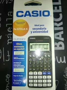 Calculadora Casio FX570LAX