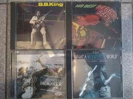 4 CD de blues y jazz