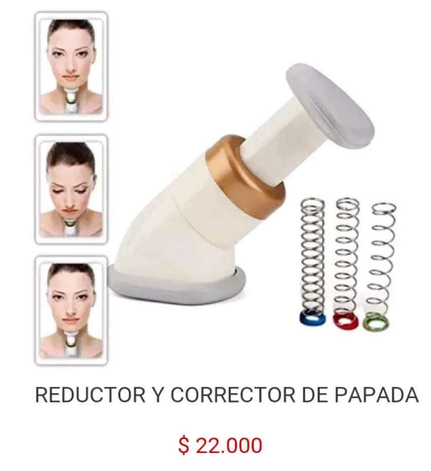 Maquina aparato para corregir quitar eliminar reductor corrector de quita papada medio ejercicio neckline slimmer cuello